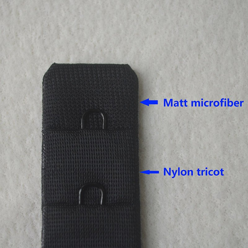 3x1 trioct/microfiber seamless bra hook and eye