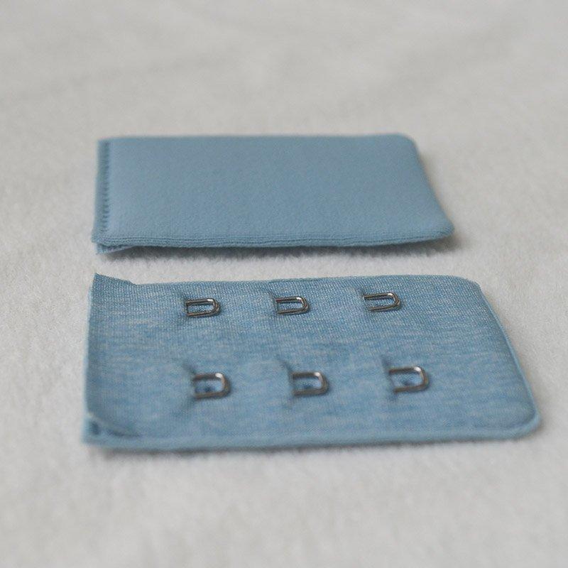 3x2 spandex cover seamless bra hook and eye