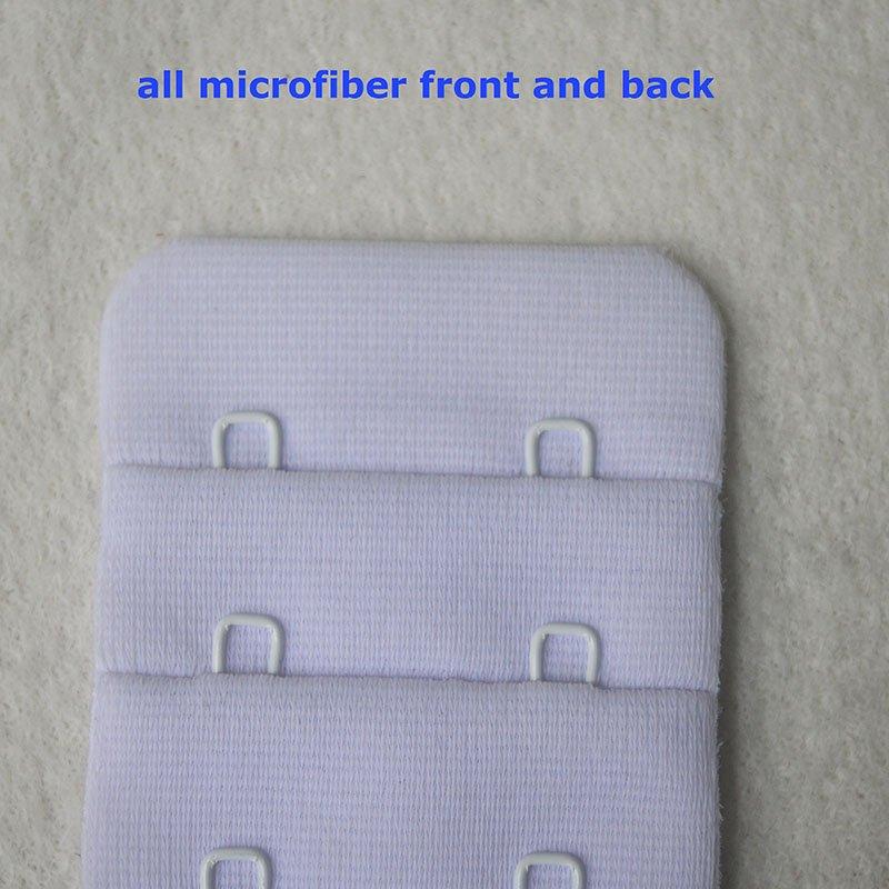 4x2 microfiber bra hook and eye tape