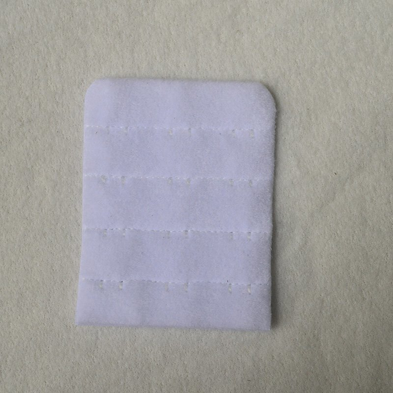 4x3 all tricot front brushed back bra hook and eye tape