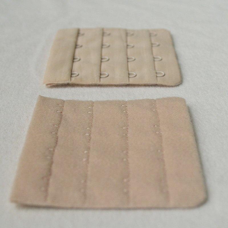 4x4 nylon underwear bra hook and eye tape
