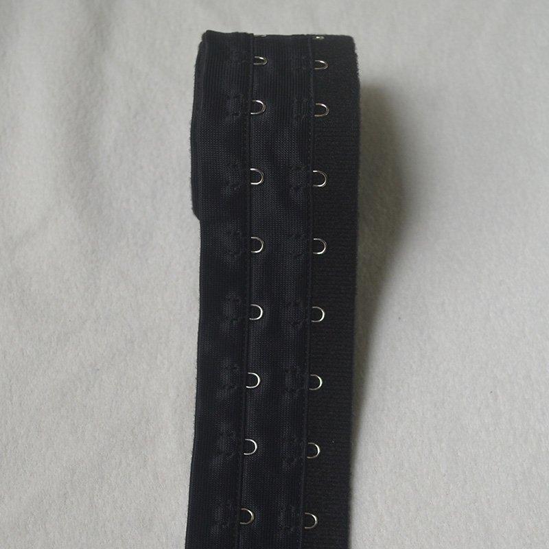 Uncut 2x3/4 Reinforced corset hook and eye tape