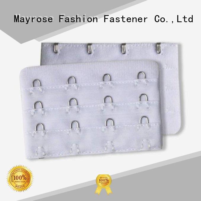 76mm front Mayrose Brand bra extender 4 hook factory