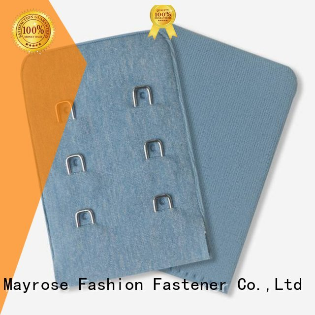 Quality Mayrose Brand bra extender 3 hook tricotspandex