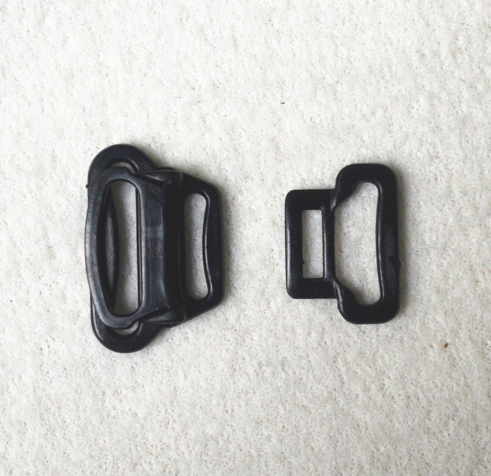 plastic l12m1 l12g Mayrose bra buckle