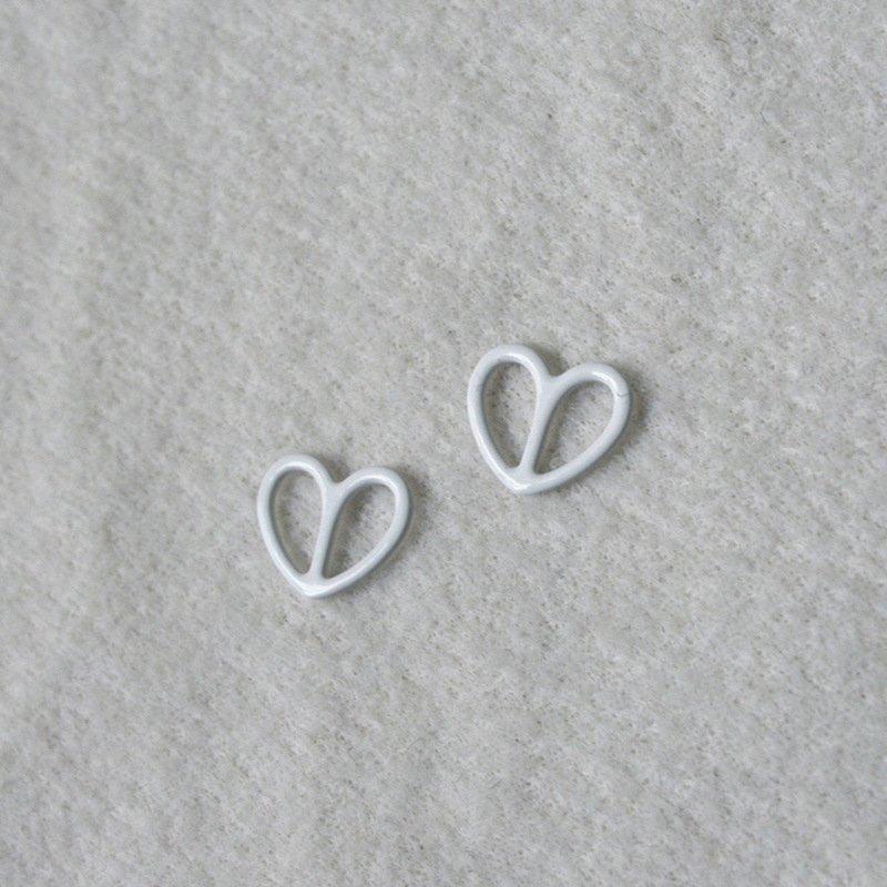 Nylon coated adjuster heart shape N66