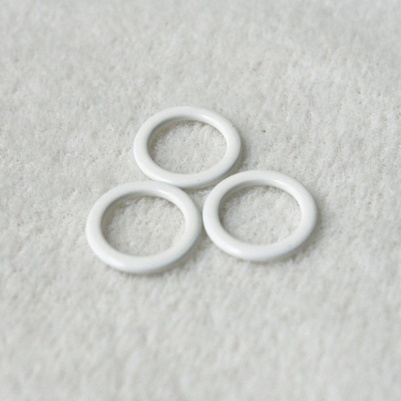 Nylon coated Ring buckle size from 6 to 30mm