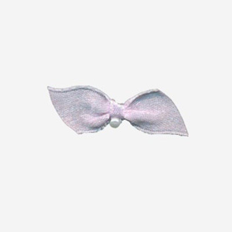 wire ribbon bow flower nylon pearls Mayrose