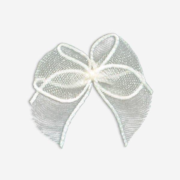 pearl rhinestone Mayrose bra with bow