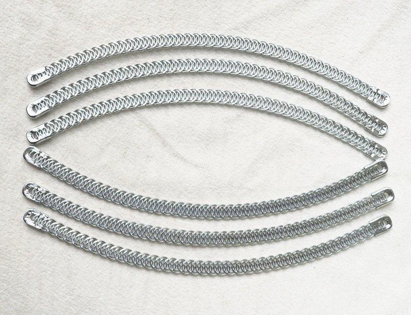 Spiral Steel Bone curved