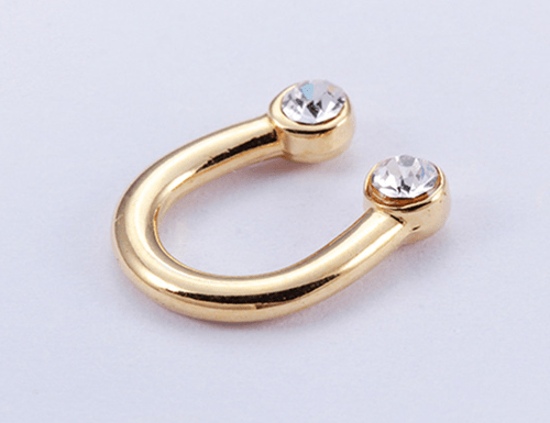 Zinc alloy adjuster U shape 8721 golden