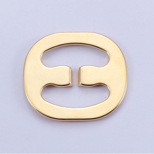 Zinc alloy adjuster swimwear buckle 8866