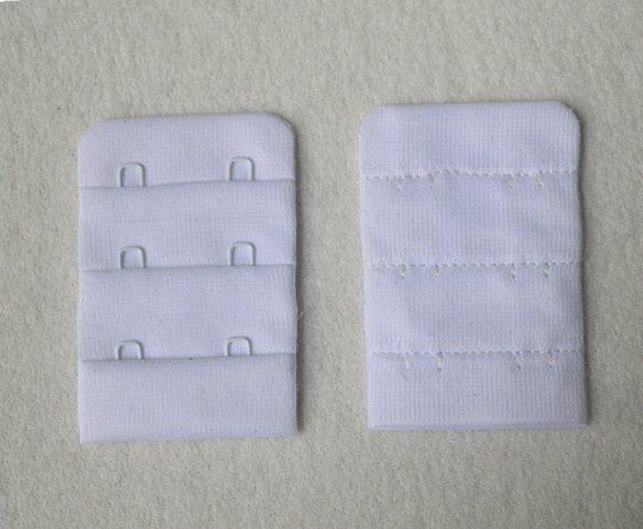 Bra hook and eye tape 3x2 microfiber