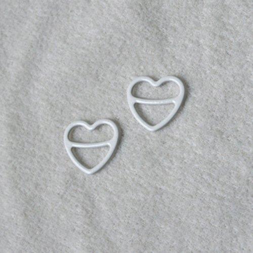 Nylon coated heart shape Q013