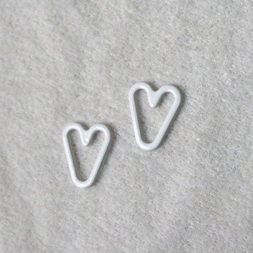 Nylon coated heart shape PS17