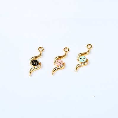 bra charms 7598 zinc alloy plating colors