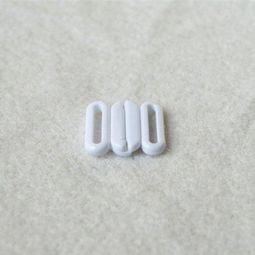 Plastic front closure clasps L12F24