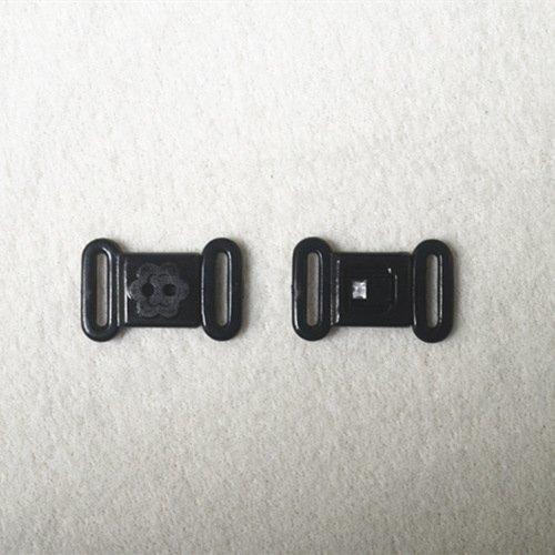 Plastic front closure clasps L12F46