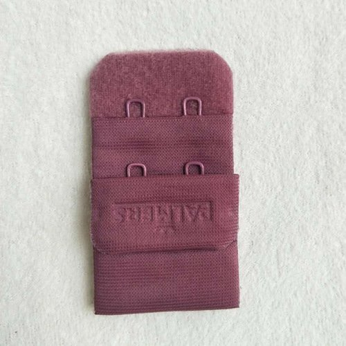 3x2 nylon underwear bra hook and eye tape with logo