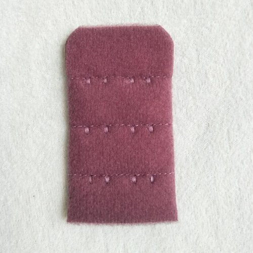3x2 nylon underwear bra hook and eye tape with logo