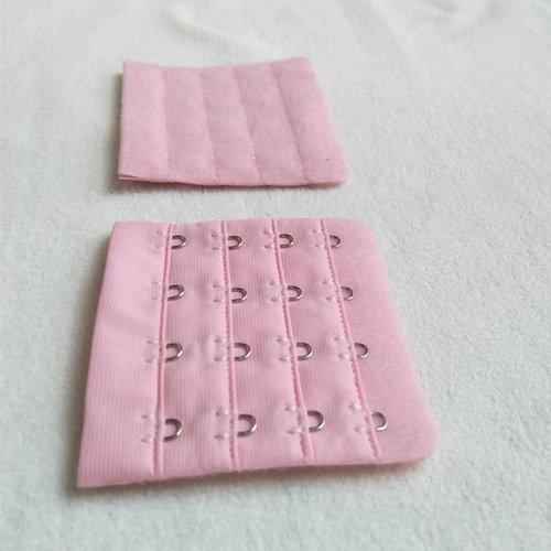 4x4 nylon lingerie hook and eye tape