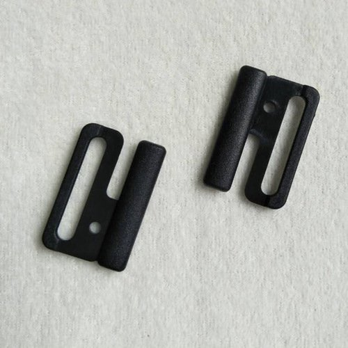 Plastic POM closure big clips L25F45A matt