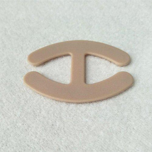 Plastic bra strap clips H shape