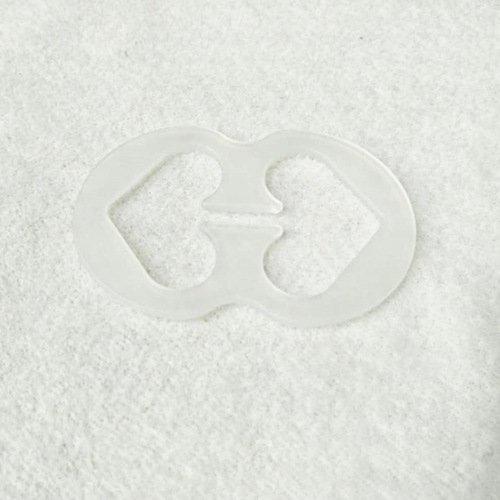 Plastic bra strap clips 8 shape