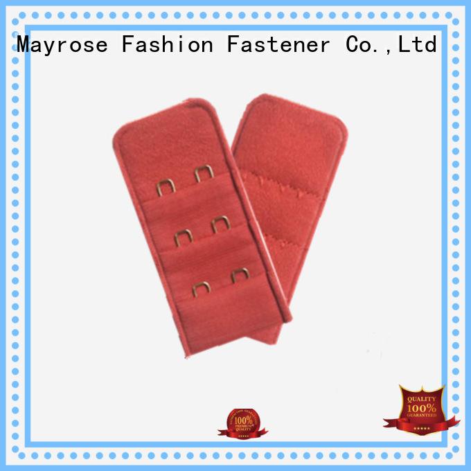 bra extender 4 hook steel nylon bra hooks cut Mayrose Brand
