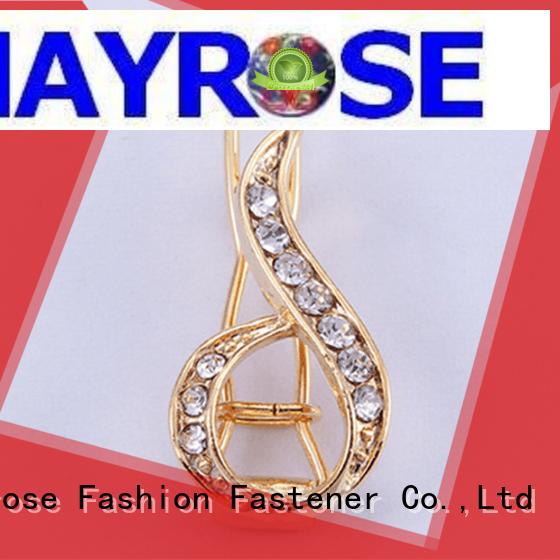 clasps fancy buckle pearl Mayrose Brand bra strap buckle supplier