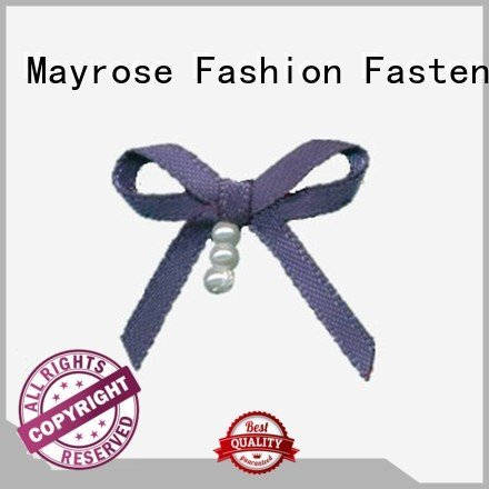 Mayrose Brand diamond rhinestone wire ribbon bow ribbon pearl