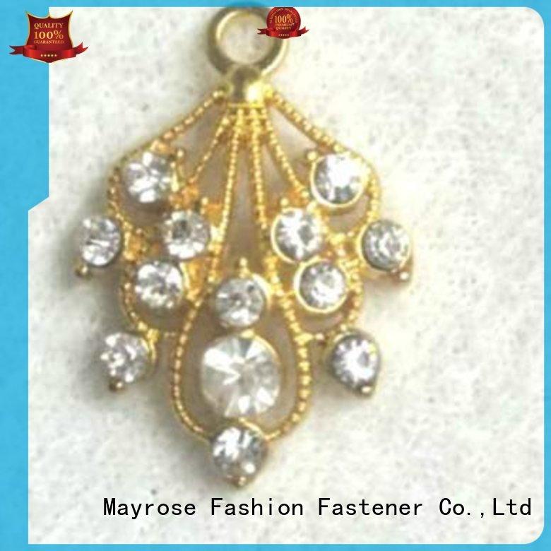 pendent decorative bra Mayrose Brand slide pendants manufacture