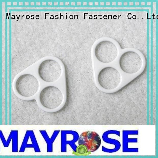 clips adjuster coated heart bra extender for backless dress Mayrose Brand