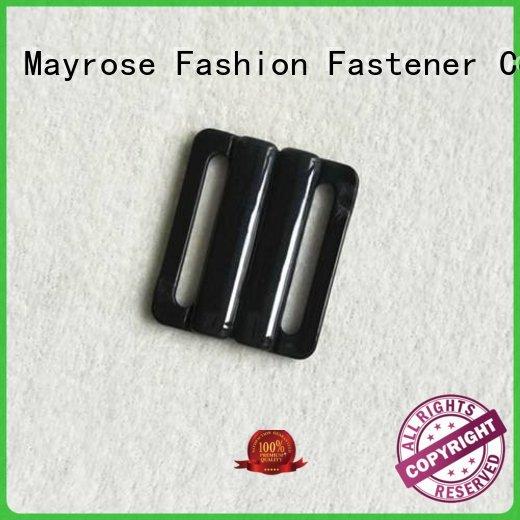 Mayrose Brand front bra buckle plastic factory