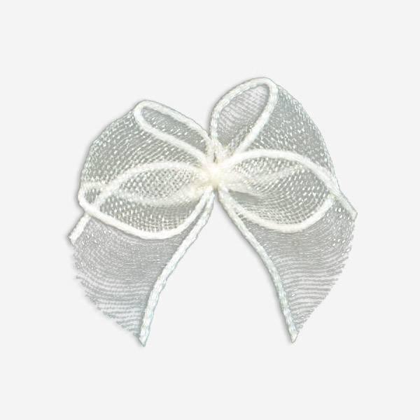 nylon ribbon bow #05T chiffon