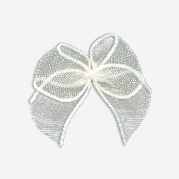 nylon ribbon bow #05T chiffon