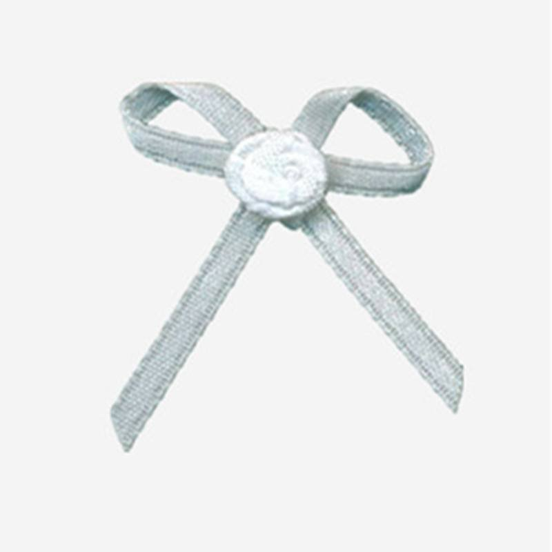 nylon ribbon bow #13 with flower