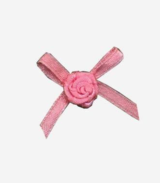 nylon ribbon bow #15 with flower