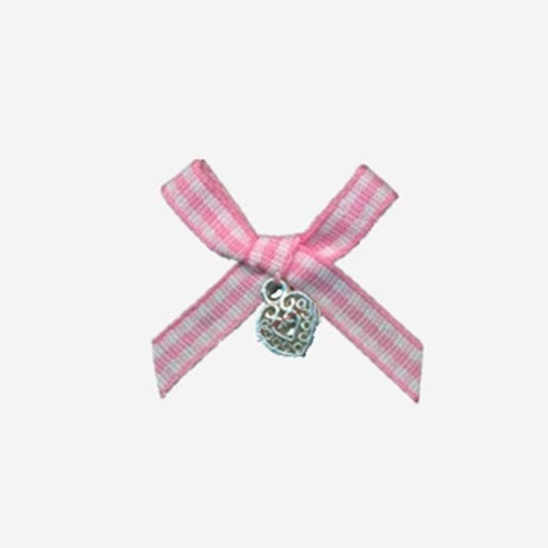 nylon ribbon bow #31 with pendant