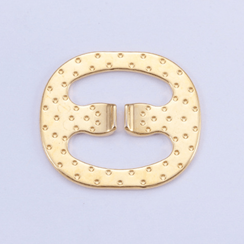 Zinc alloy adjuster swimwear buckle 8866