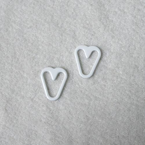 Mayrose Nylon coated heart shape Q012 Ring/slide/hook/speical shape/Garter/Suspender image6