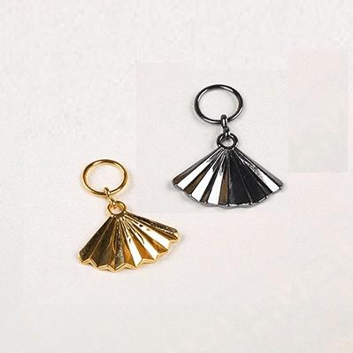 bra charms 8218 zinc alloy fan