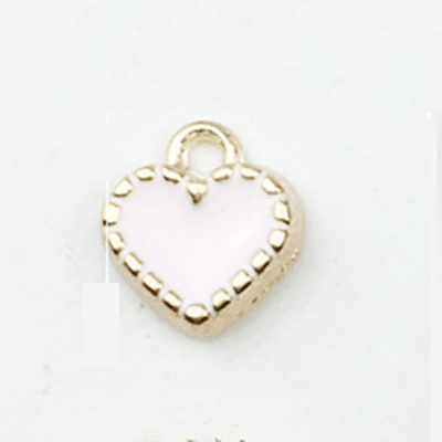 bra charms 1153 heart