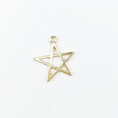 bra charms 1078 star