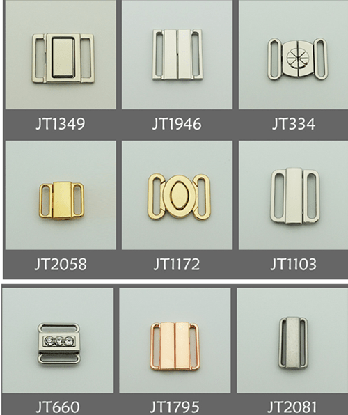 Zinc alloy adjuster front clasps JT collection