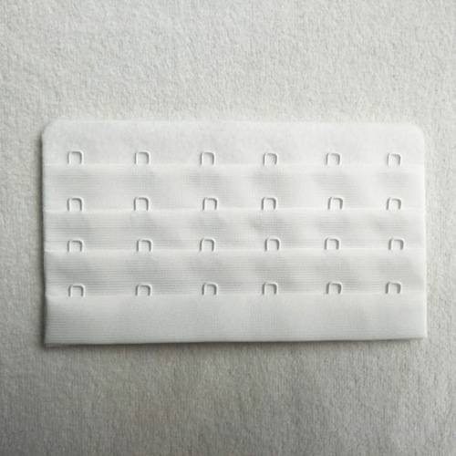 4*5 microfiber/soft brushed seamless hook and eye tape