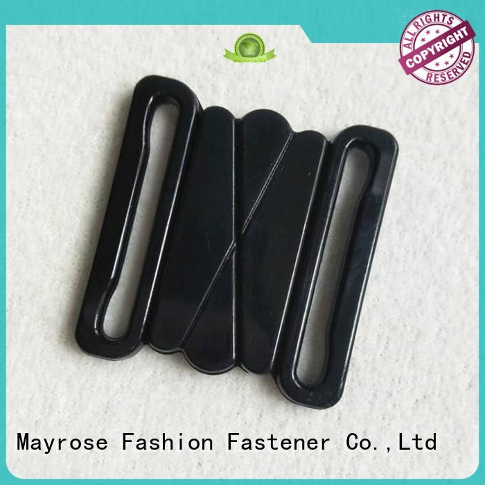 Mayrose Brand plastic front bra clasp replacement buckle supplier