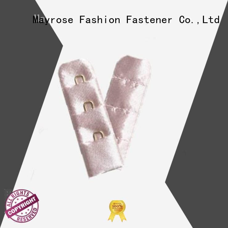 4x2 steel stainless Mayrose Brand bra extender 4 hook factory