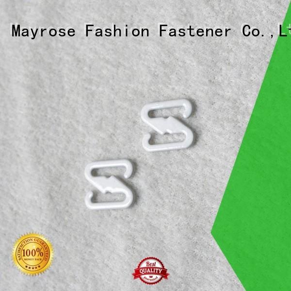 Wholesale from coated bra strap adjuster clip Mayrose Brand