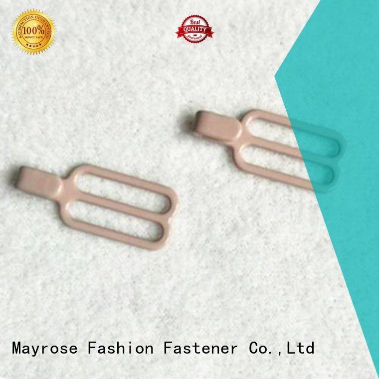 Mayrose Brand slider speical bra strap adjuster clip manufacture